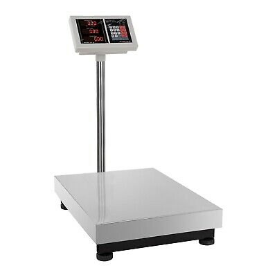 PLATFORM SCALE 300kg/50g - DIGITAL HEAVY DUTY ELECTRONIC WEIGHING PALLET SCALES