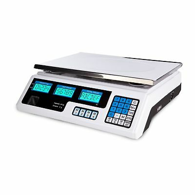 PRICE SCALES 40kg/2g - DIGITAL PROFESSIONAL COMPUTING ELECTRONIC WEIGHING SCALE