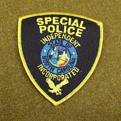 28510) Patch Independent North Carolina Special Police Department Sheriff