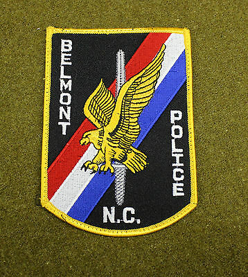 28508) Patch Belmont North Carolina Police Department Sheriff Insignia