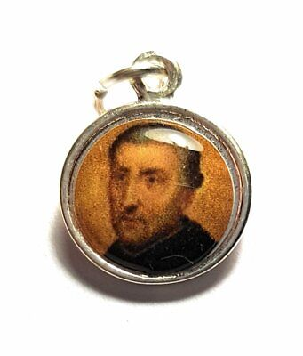 St PETER CANISIUS relic medal patron of Catholic press, Germany