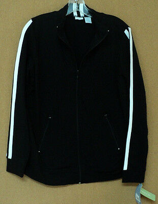 NEW size medium In Due Time maternity JACKET black white M NWT