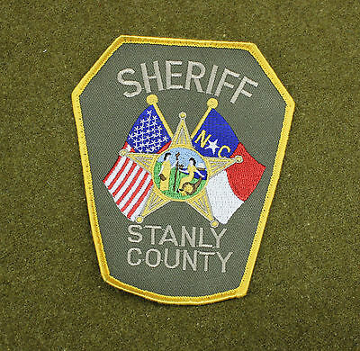 28516) Patch Stanly County North Carolina Sheriff Department Police Insignia