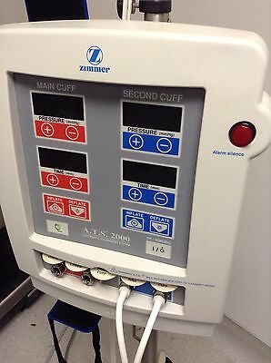 ZIMMER ATS 2000 Tourniquet System double cuff +multiple additional cuffs