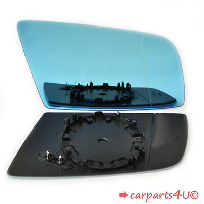 Right Driver Side Heated Electric Wing Mirror Glass for BMW 6 E63 E64 2004-2011