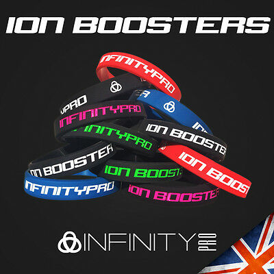 Ion Bracelet Infinity Pro Band 3000 Ions Sleep Golf Energy Power Mood Wristband