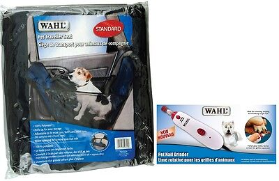Wahl Pet Combo-Traveler Seat and Corded Nail Grinder