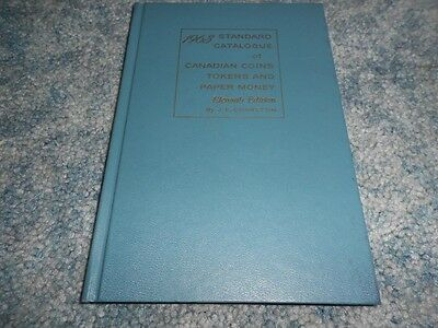 VINTAGE 1963 STANDARD CATALOGUE of CANADIAN COINS TOKENS PAPER MONEY CHARLTON