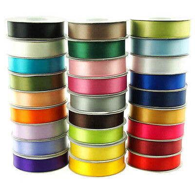 Double Faced Satin Ribbon, 1/4, 3/8, 5/8, 7/8, 1.5, 2.5, 4-inch