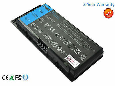 Genuine 65WH T3NT1 Battery For Dell Precision M4600 M50 M6600 M4700 laptop New