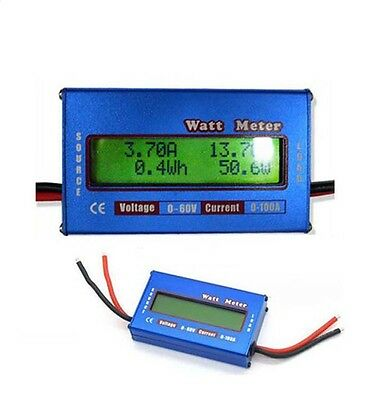 60V100A Battery Checker Balance Power Voltage Analyzer Watt Meter RC Charger New