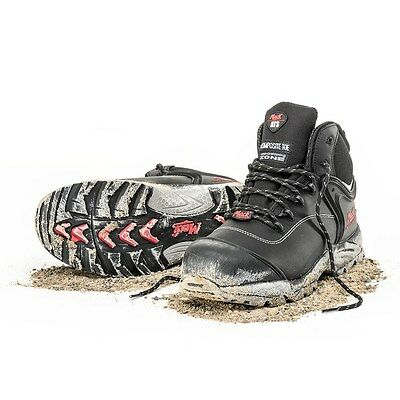 Brand New Mack Dingo Black Lace Up Work Safety Boots