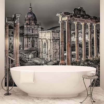 WALL MURAL PHOTO WALLPAPER PICTURE (1334P) Rome City Urban Vintage