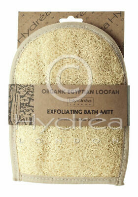 Hydrea Natural Organic Egyptian Loofah Exfoliating Bath Mitt