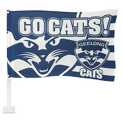 AFL GEELONG CATS CAR FLAG - Footy Fans Gift