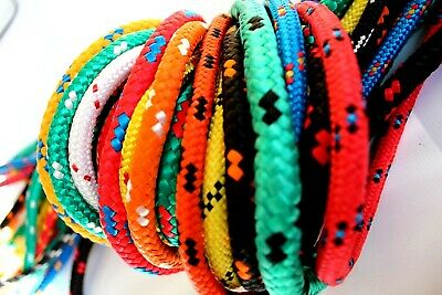 8mm Braided Polypropylene Poly Rope Various Colours PRICE PER METER