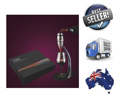 NEW - Premium Deluxe Quality Unique Wine Aerator Gift Package