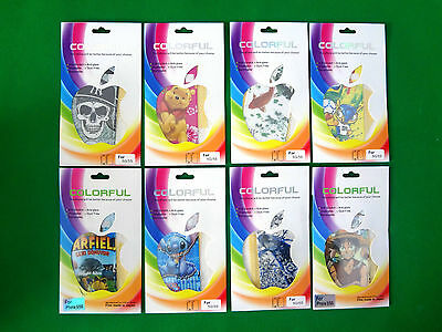 iPhone 5, 5S Skin Vinyl Sticker Kit Back & Front Decal Protect Film (C215)