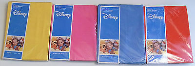 Disney Ruffled Valance Blue Pink Yellow or Red (Flame Orange)