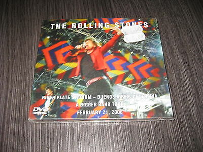 The Rolling Stones 2 Dvd River Plate Stadium Buenos Aires 21 / 02 / 2006