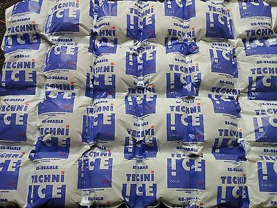 Techni Ice 3 Reusable Ice Packs For Hot & Cold Therapy. 4ply. 12 Sheet Special