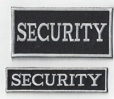 1 Set Of 2  Security   Iron On Patches Buy 2 Sets Get Another Set  Free