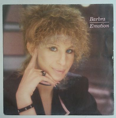 "Barbra Streisand Emotion Single 7"" Holanda 1984"
