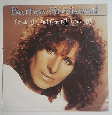"Barbra Streisand Comin' In And Out Of Your Life Single 7"" Holanda 1981"