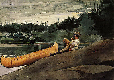Lost on the Grand Banks  by Winslow Homer  Giclee Canvas Print Repro