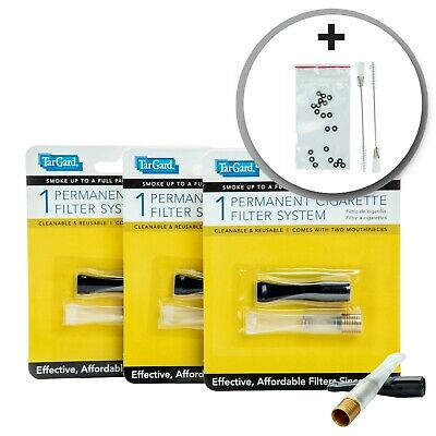 Ultimate Cleanable Reusable Filter Cigarette Holder Bundle by TarGard