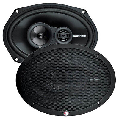 "Rockford Fosgate R169X3 6X9"" Car Speakers with LOCAL AUST WARRANTY"
