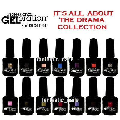 Jessica GELeration S/O Gel Polish - It's All About the Drama 2014 New Colors!!!