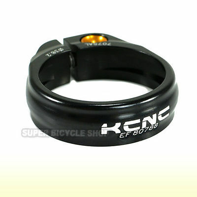 KCNC SC9 Seat Post Clamp 7075 Alloy , 38.2mm , Black