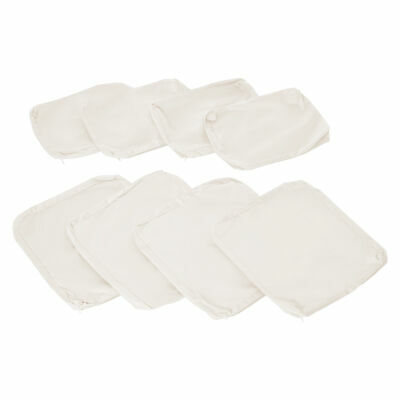 8pc Rattan Garden Furniture Home Sofa Cushion Cover Replacement