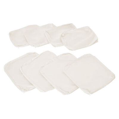 Outsunny 8pc Home Sofa Cushion Cover Replacement for Rattan Garden Furniture