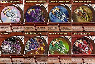 COMPLETE SET OF 24 GENUINE SPINMASTER SERIES 2C BAKUGAN ABILITY CARDS (25-48C)