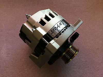 250 Amp NEW Alternator Chevy Caprice  Camaro 1987 - 1988 High Output  Generator