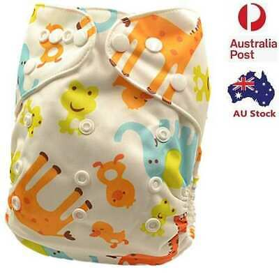 Modern Cloth Nappies Diaper Washable Reusable Size Adjustable Pocket Nappy (D16)