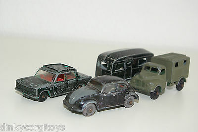 Matchbox Lesney Vw Volkswagen Caravan Ford Corsair Good Condition Repaint