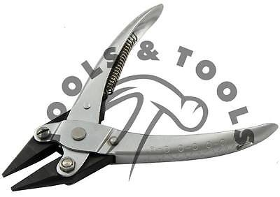 Parallel Action Chain Nose Pliers, Jewelry Beading Tools Smooth/ Serrated Jaws