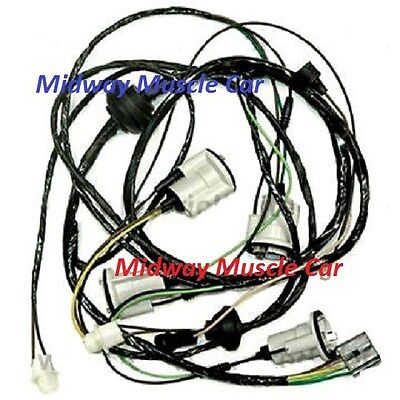 chevy chevrolet chevelle tail light lens pair bull picclick rear body tail light wiring harness 71 72 chevy chevelle bu ss chevrolet
