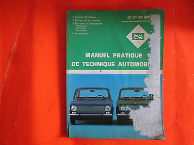 Revue Pratique De Technique Automobile / Fiat 124 / 1961 / B6E6