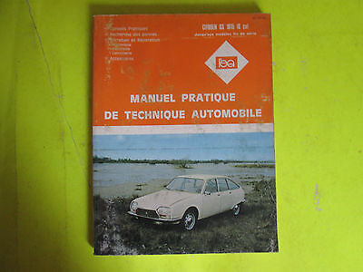 Revue Pratique De Technique Automobile / Citroen Gs 1015 / 1985 / B6E6