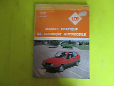Revue Pratique De Technique Automobile / Citroen Axel / 1985 / B6E6