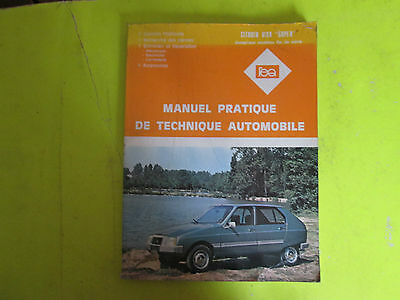 Revue Pratique De Technique Automobile / Citroen Visa Super / 1981 / B6E6