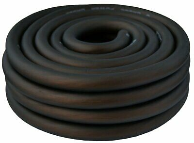 0 Gauge Wire Black Amplifier Power/Ground 1/0 Ga Amp Wire 25 Feet Cable Roll