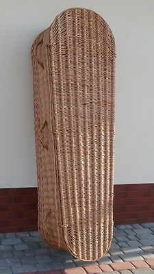 PREMIUM WICKER / WILLOW (Real / Willow / Full Size / Funeral Casket) COFFIN #2