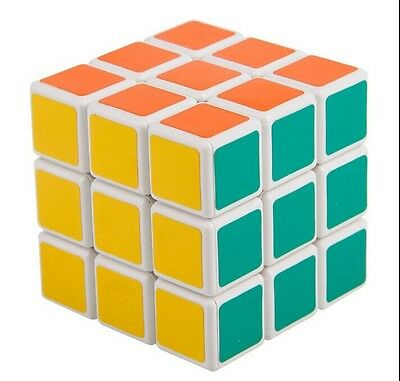 New Shengshou 3x3x3 Ultra-smooth Spring Speed Magic Cube 3x3 Puzzle Racing White