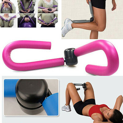 Pink Exercise Machine Gym Toner Thigh Master Leg Arm Muscle Fitness Sport  Tool