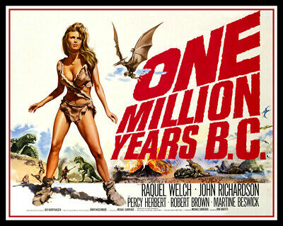 One Million Years BC FRIDGE MAGNET 6x8 Raquel Welch Movie Poster CANVAS Print